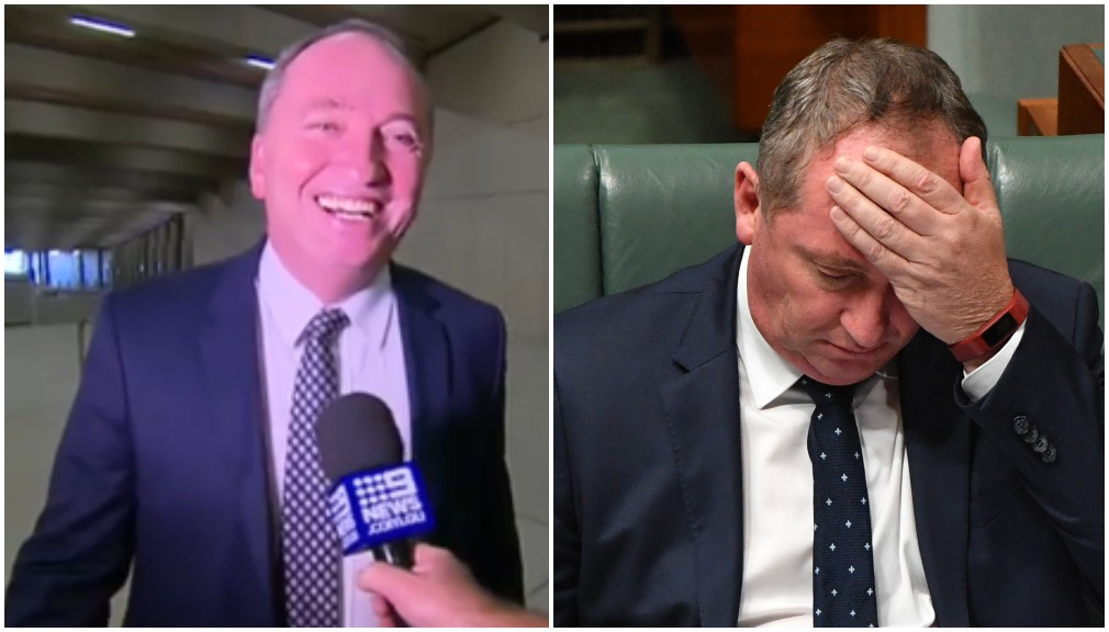 Barnaby Joyce 'back in business' after pressure to resign