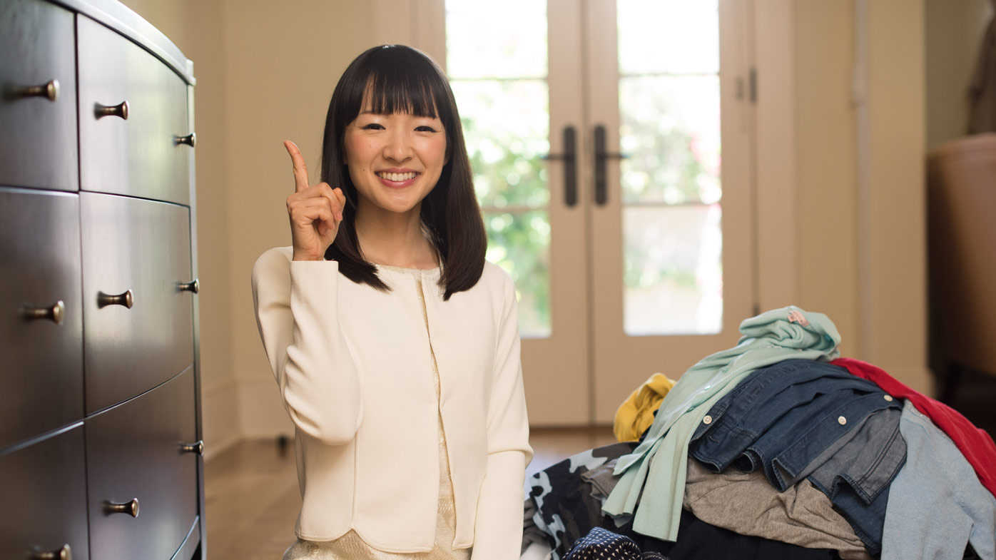 marie kondo is getting her own netflix series 9homes. Black Bedroom Furniture Sets. Home Design Ideas