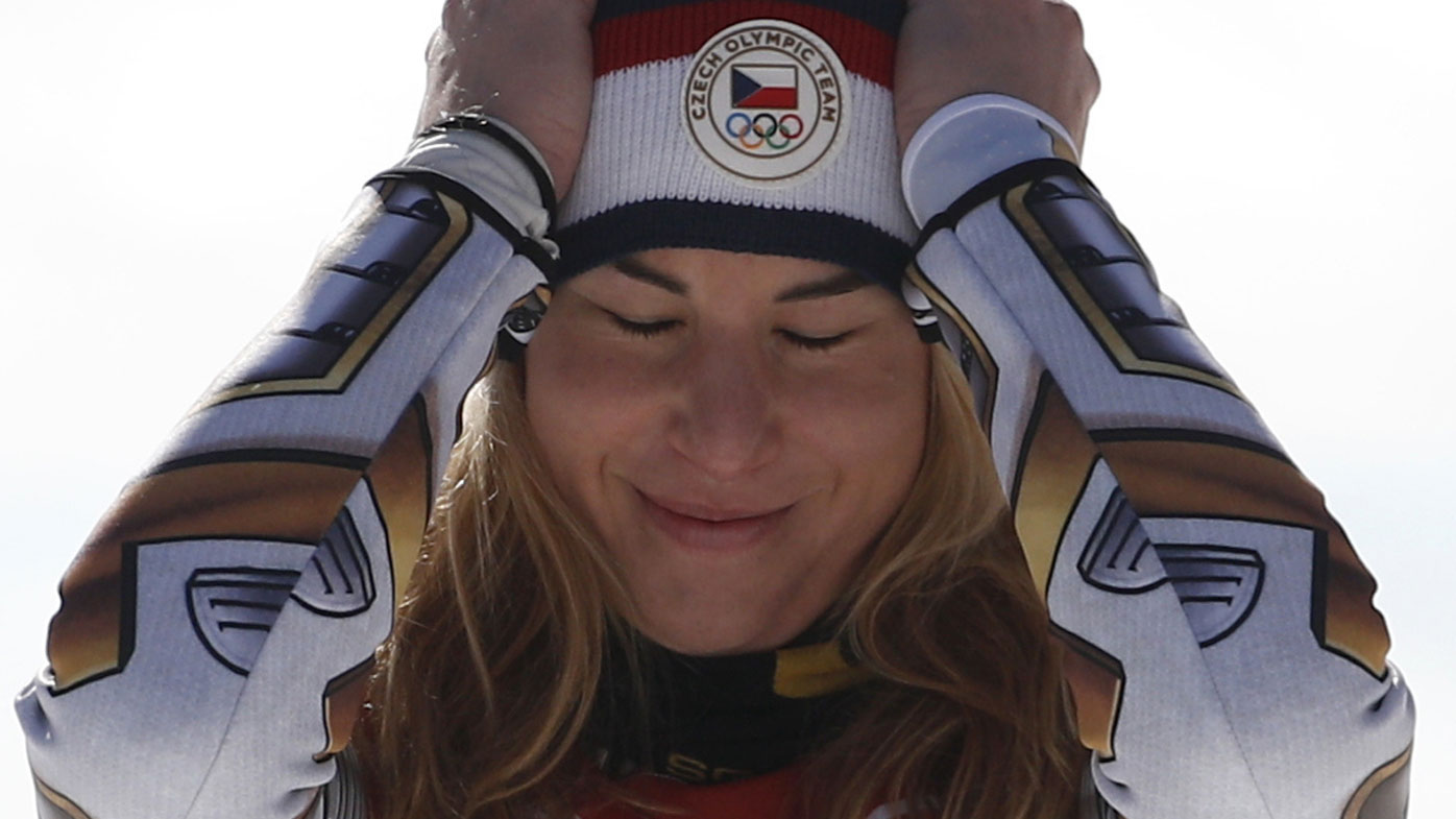 Lindsey Vonn ties for sixth in super-G at Winter Olympics