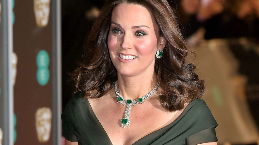 The Duchess wears controversial BAFTAS look