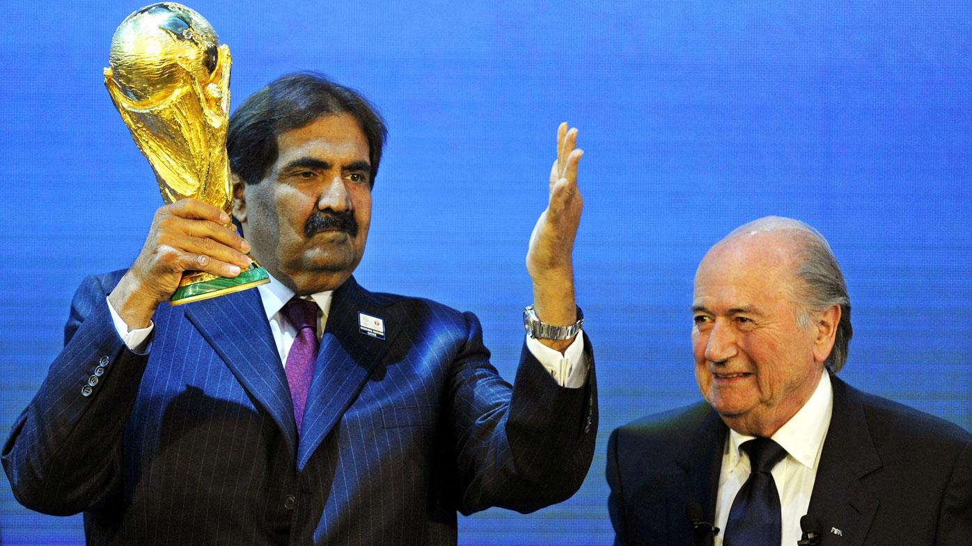 Qatar World Cup bid.