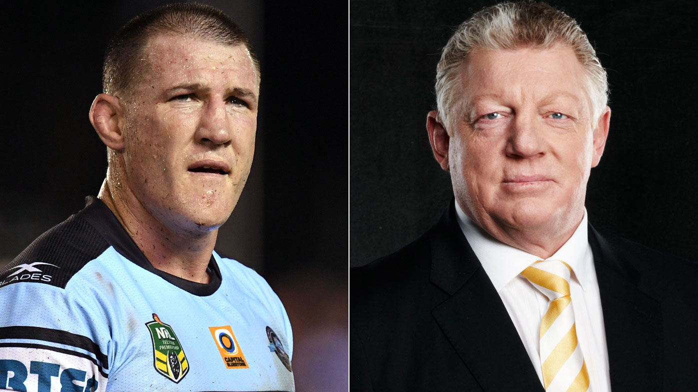 Paul Gallen and Phil Gould.