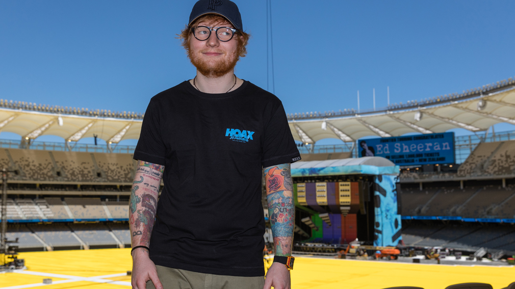 Ed Sheeran ready for record-breaking tour, as one in 23
