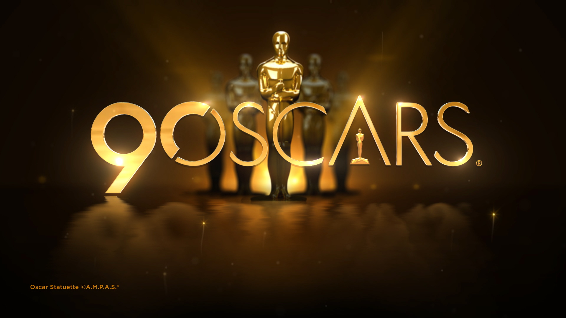 Nine Is The Home Of The 90th Annual Academy Awards