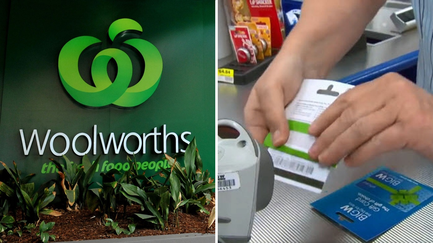 Woolworths 9finance business news finance shares investing woolies scraps gift card expiry dates negle Image collections