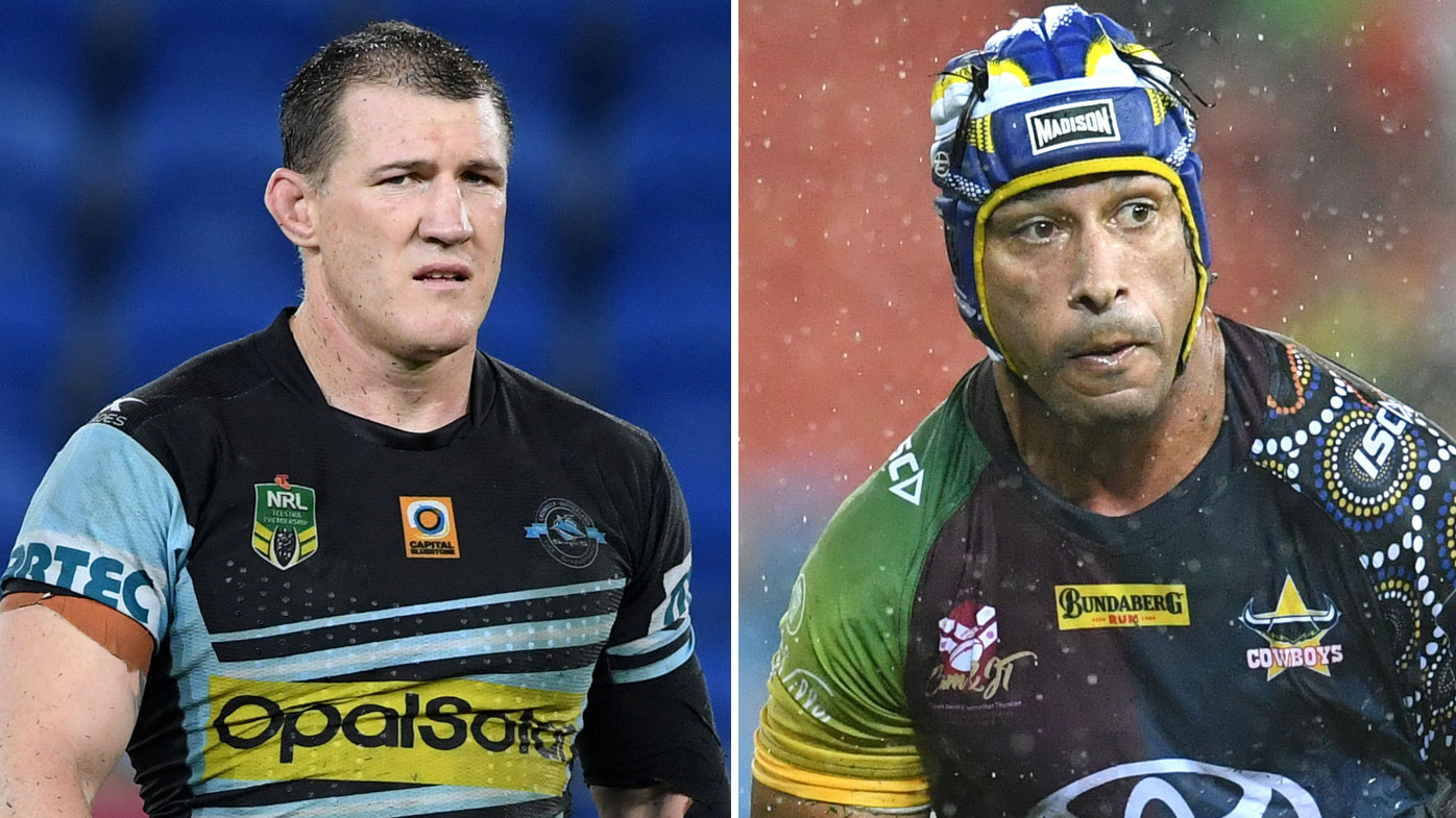 Paul Gallen and Johnathan Thurston