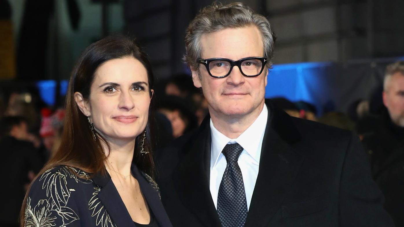 Colin Firth's wife con...