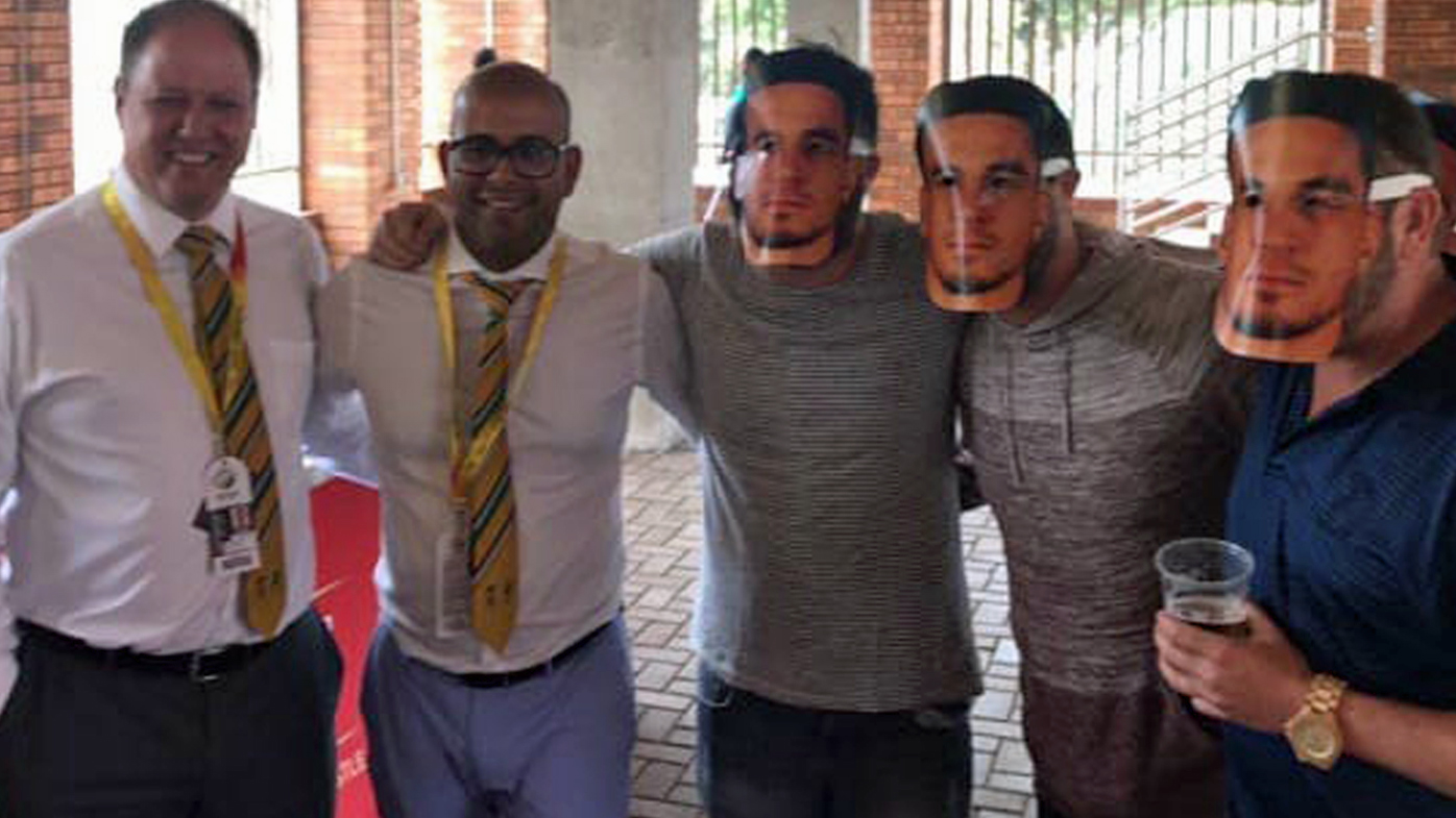 Cricket Sth Africa apologise for SBW masks