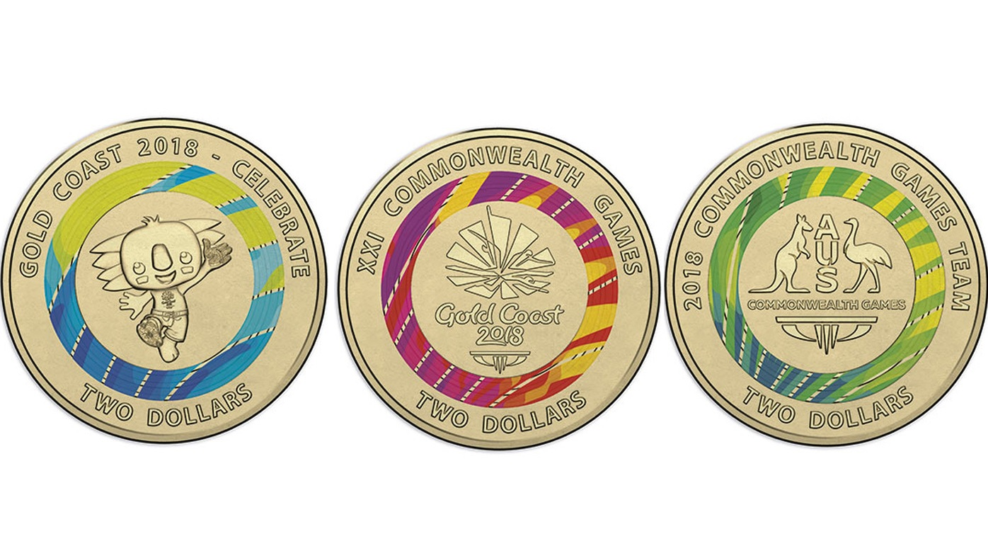 Three New 2 Coins Released To Commemorate Commonwealth Games