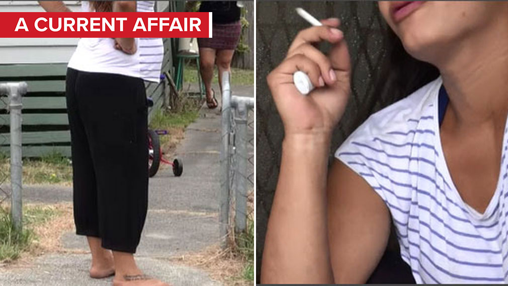 Pregnant mum smokes ice 'four times a day' - 9News