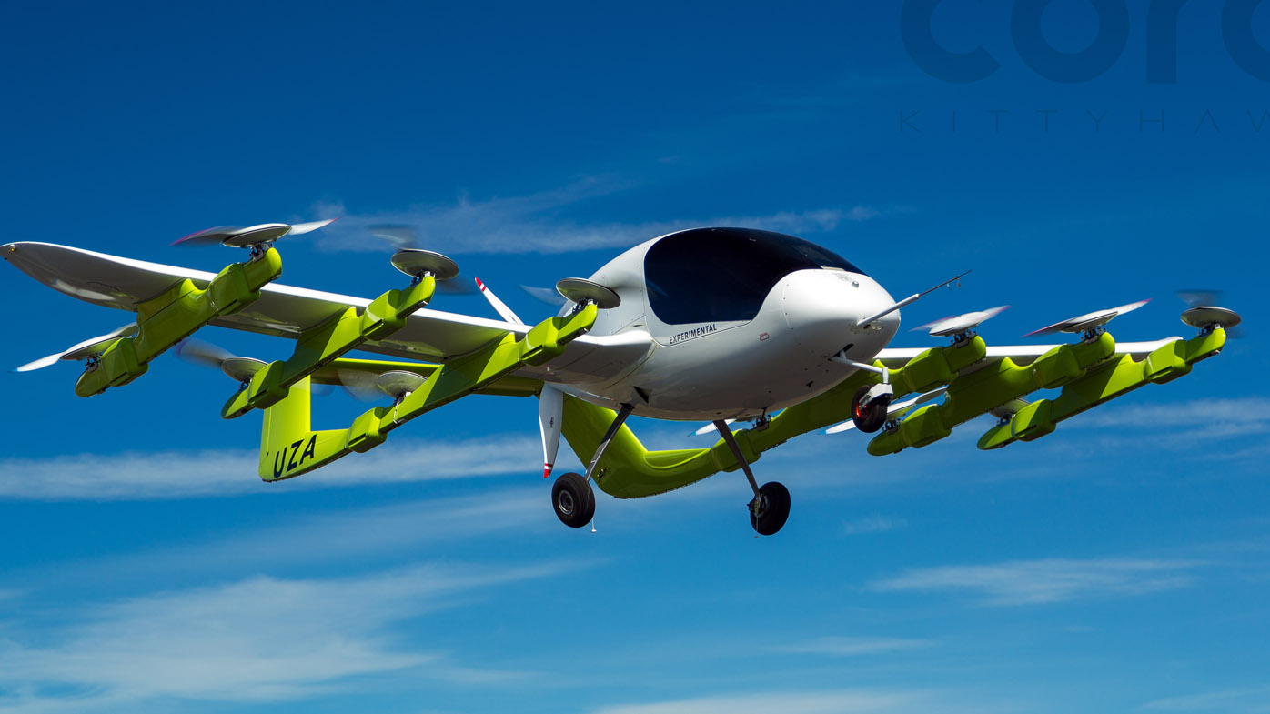 Meet Cora, the air taxi funded by Google co-founder Larry Page