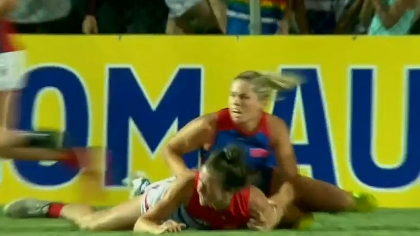 AFL: Women's star challenges ban on sexism grounds