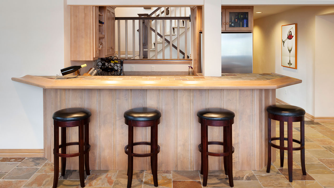 how to build a bar in your house