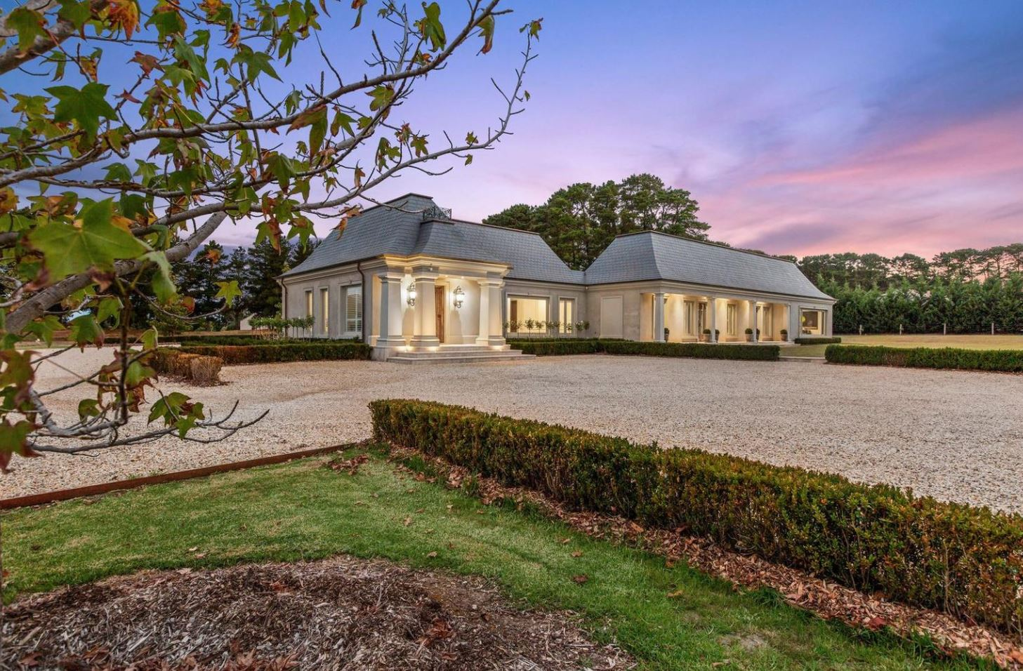 French provincial estate stuns on mornington peninsula for French provincial homes for sale