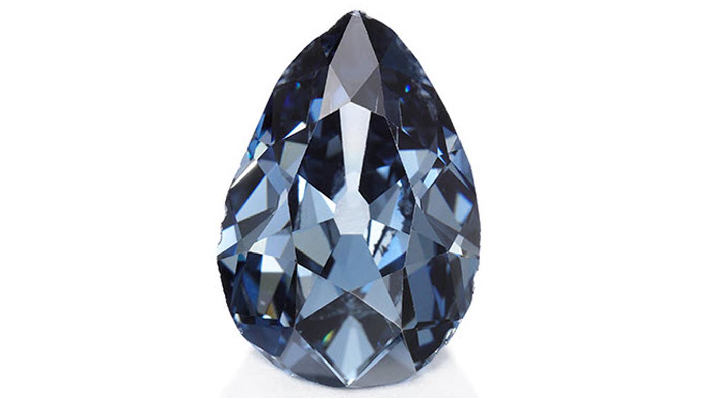 Modrý diamant Farnese Blue