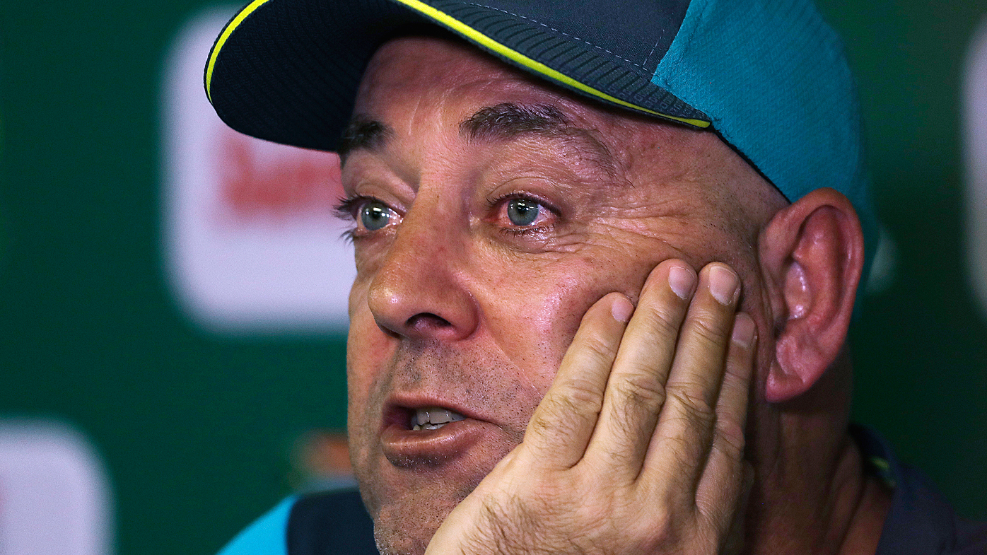 Australia coach Lehmann to step down after final Test against Proteas