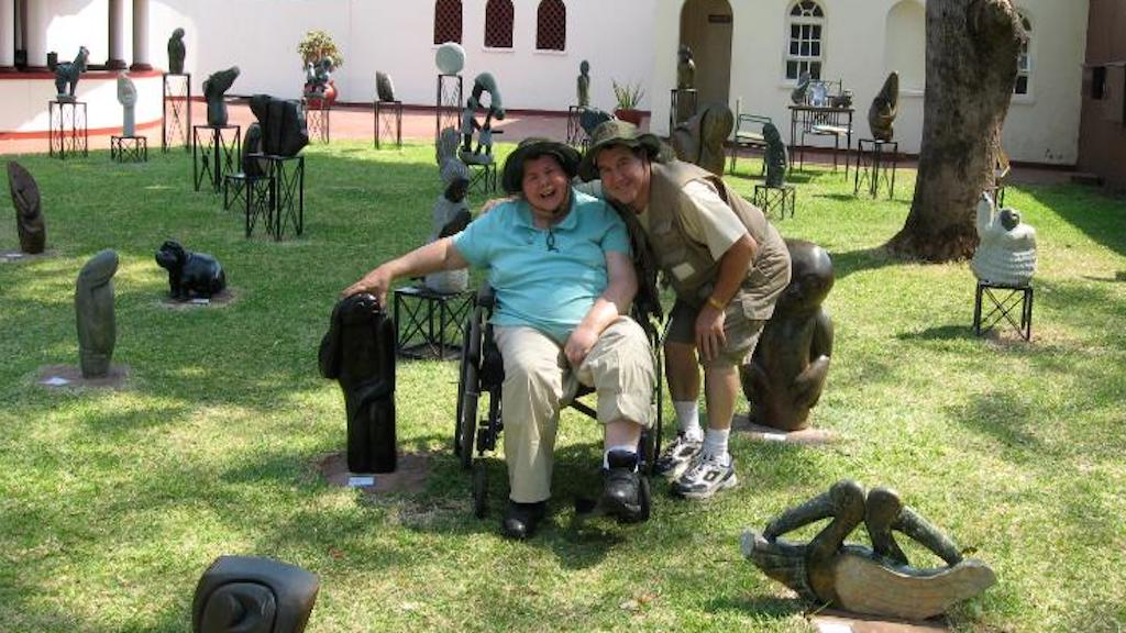Instead of putting his wife in a nursing home, this man took her around the world