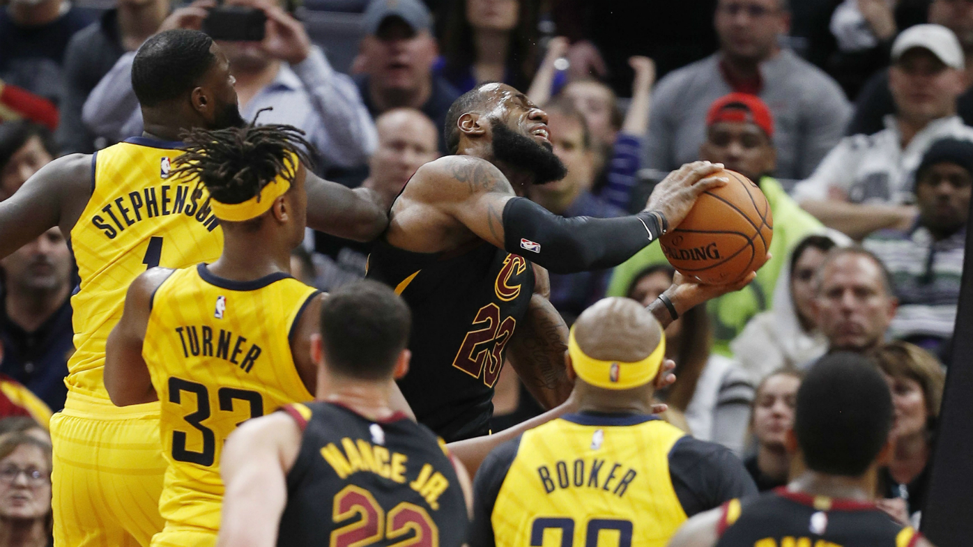Pacers smother Lebron