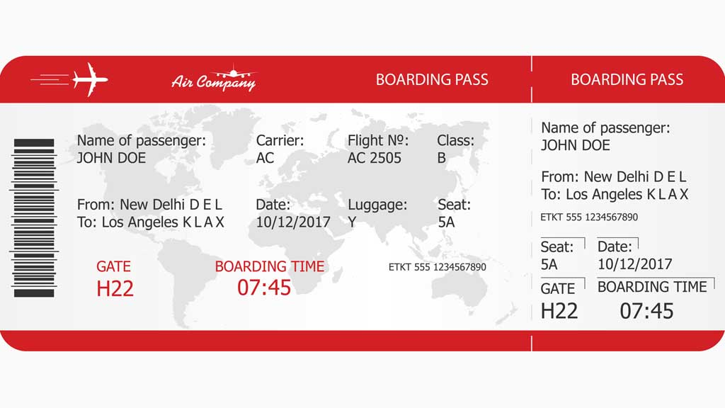 What The Codes On Your Boarding Pass Really Mean 9travel