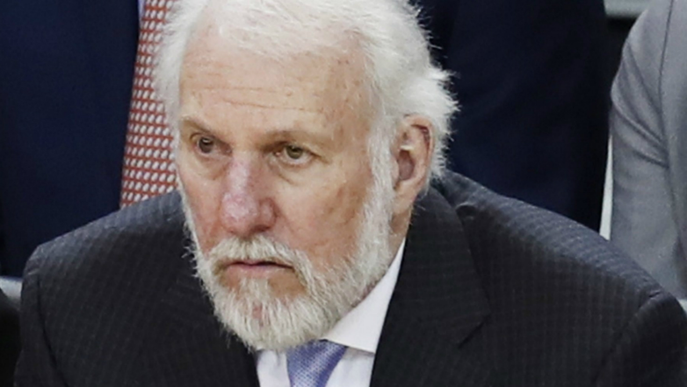 Spurs coach Popovich to miss game three after death of wife — NBA