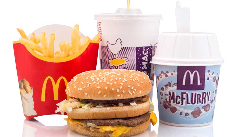 McDonald's restaurant will serve food from around the world