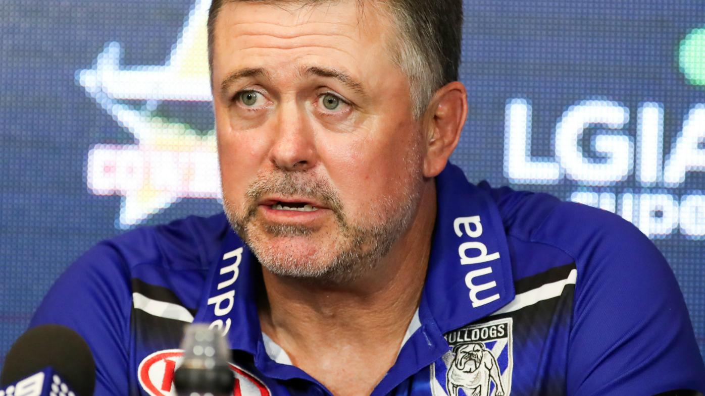 Dean Pay, Coach of the Bulldogs