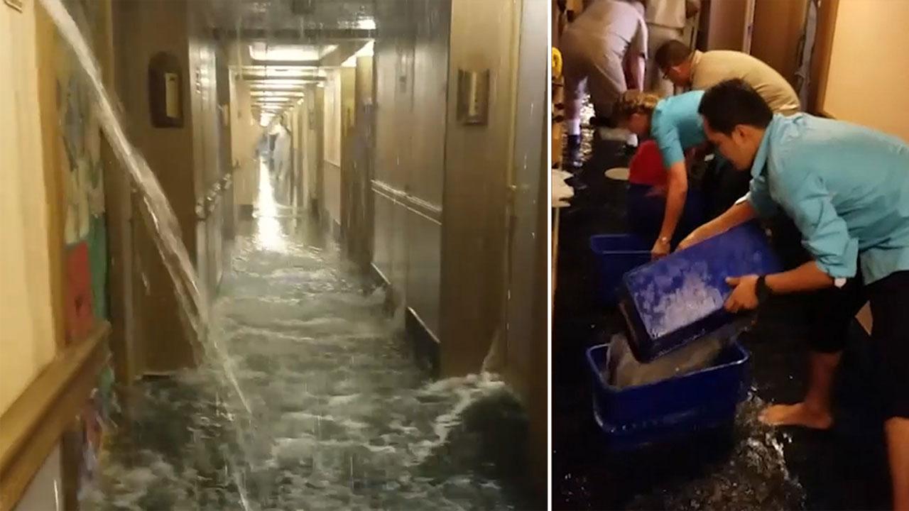 Carnival Cruise Ship Flooding Looks Like A Scene From Titanic