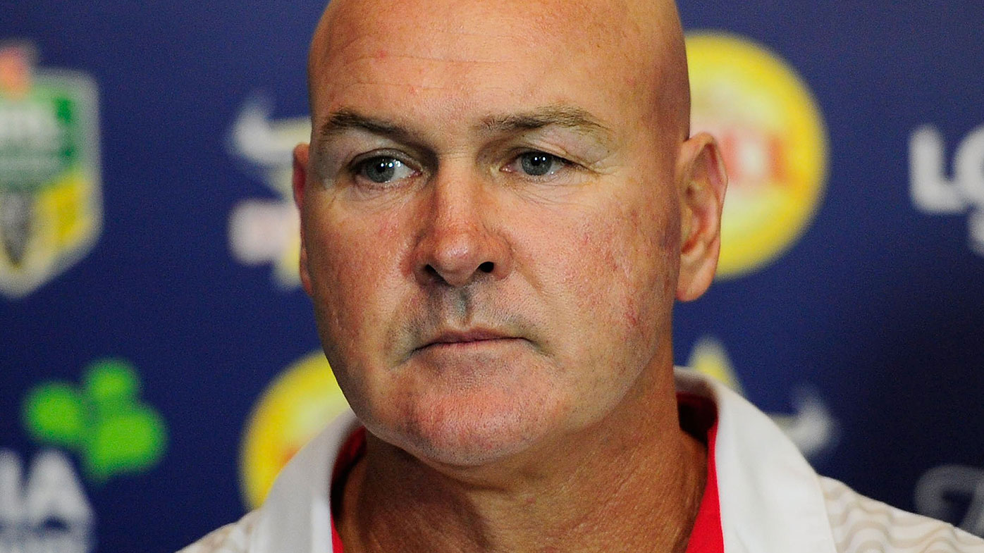 St George Illawarra NRL coach Paul McGregor