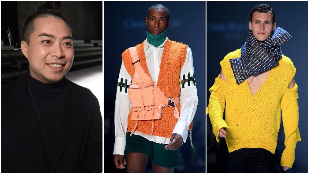 Emerging Aussie designer Chris Ran Lin brings back turtlenecks