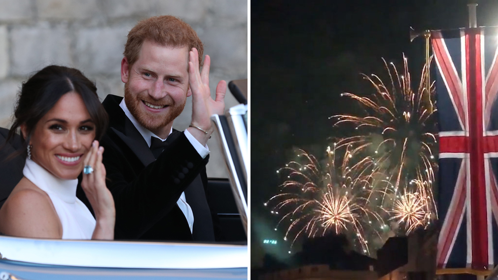 Celebrations continue for the new Duke and Duchess of Sussex