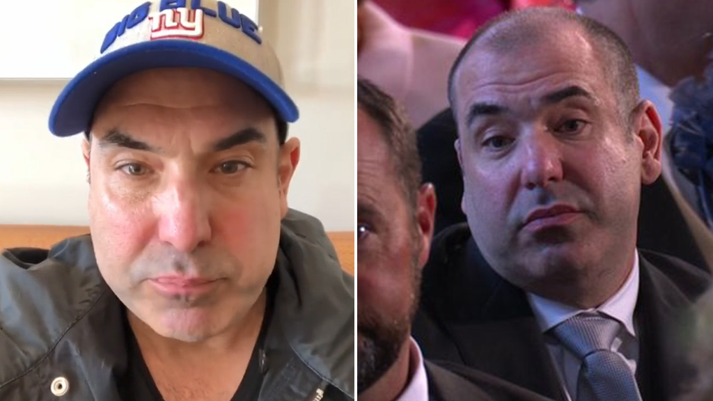 'Halitosis, disgusting': Meghan Markle's Suits co-star Rick Hoffman explains his weird face during the Royal Wedding ceremony