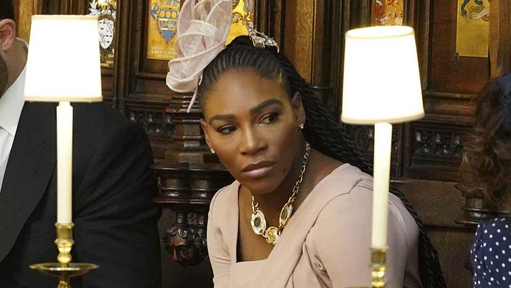 Serena Williams addresses claims she played beer bong at royal wedding
