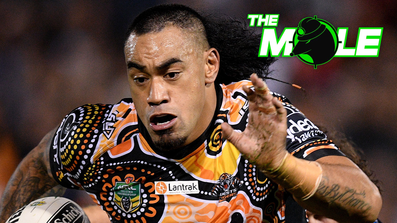 Mahe Fonua of the Wests Tigers