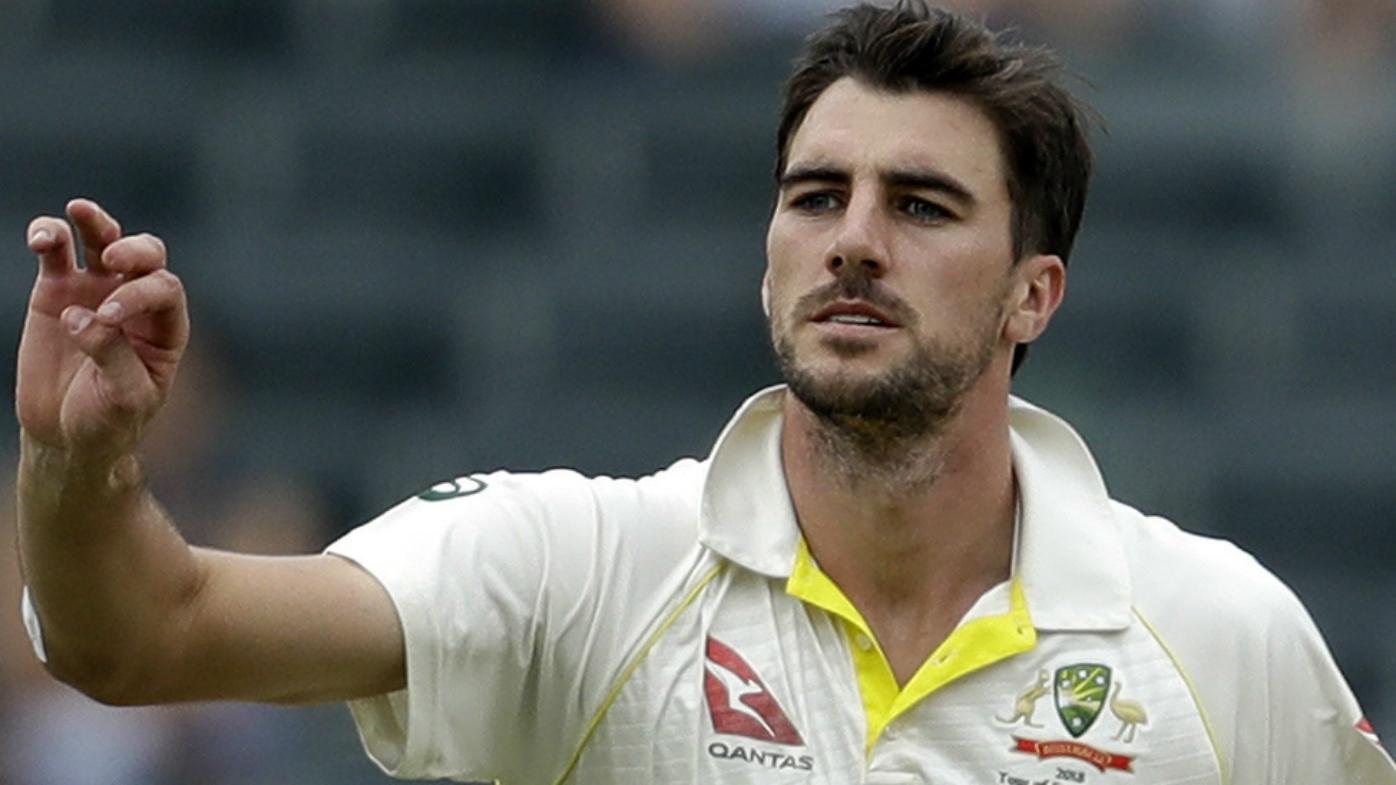 Australia's bowler Pat Cummins
