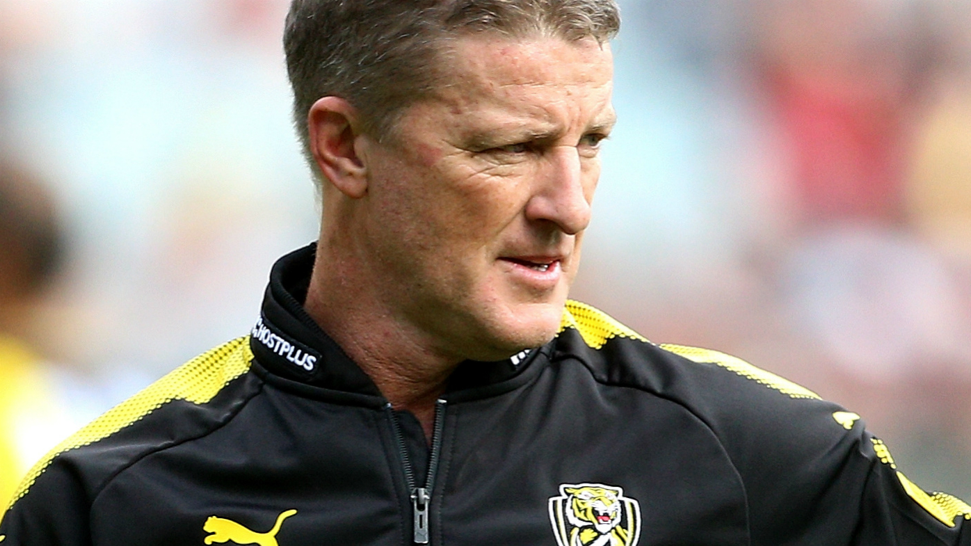 Damien Hardwick coach of the Tigers