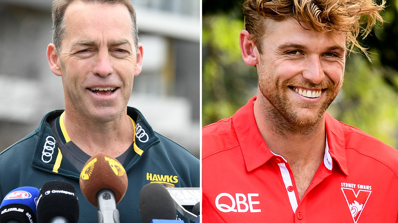 Dane Rampe Alastair Clarkson