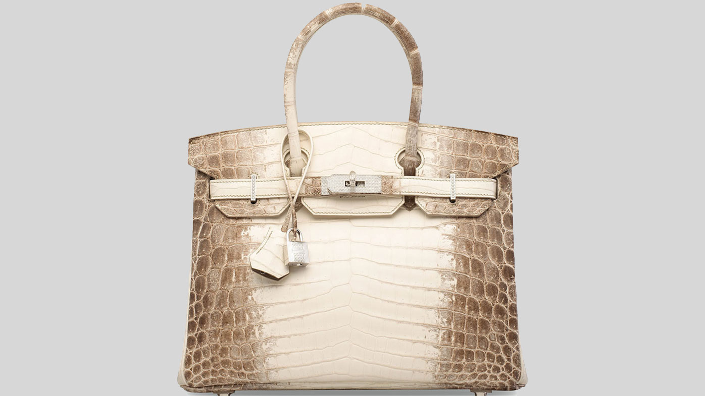 Hermès Himalaya Birkin set to go up for auction at Christie's London