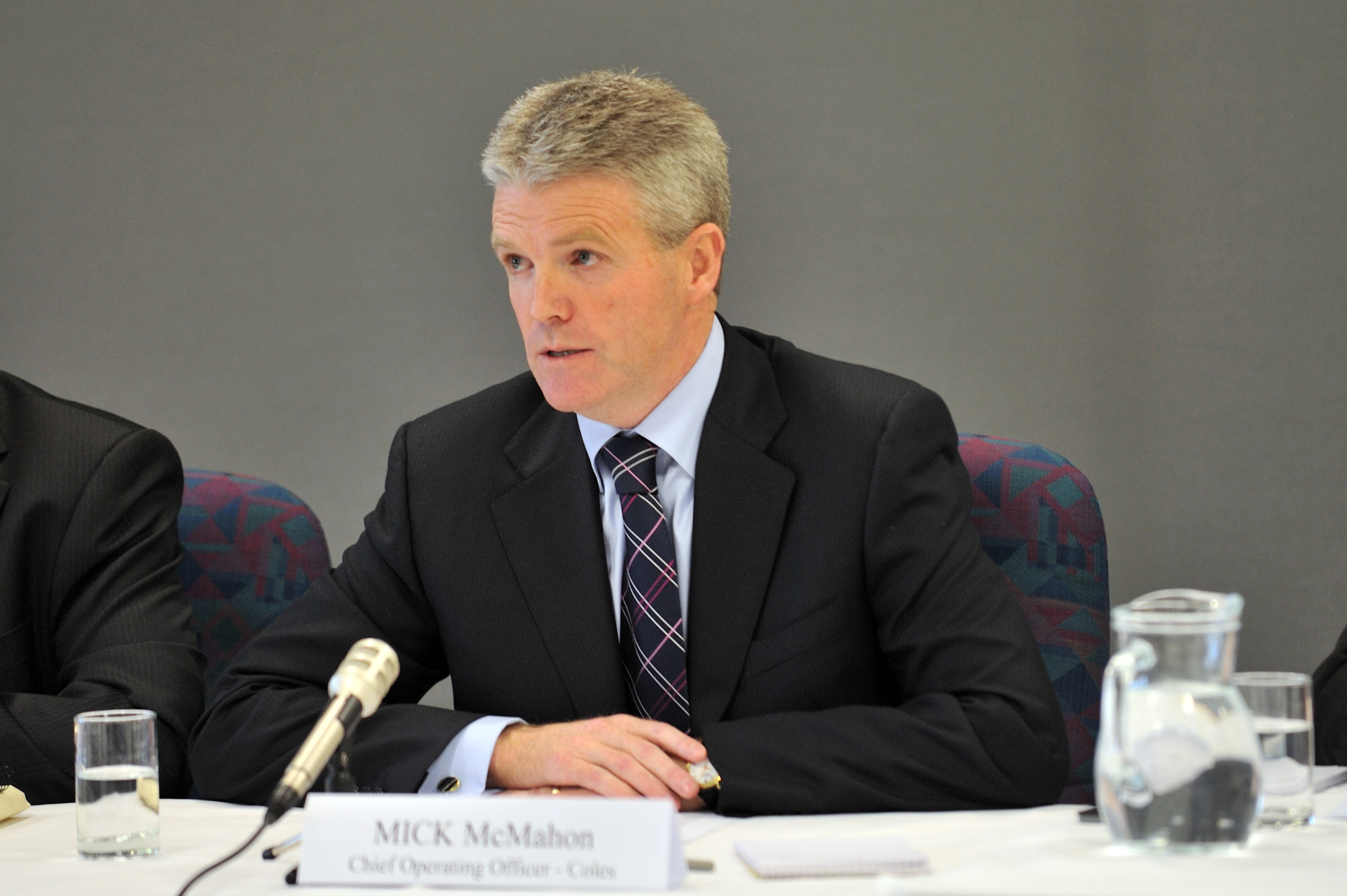 Ingham's CEO Mick McMahon will step down in August (AAP Image/Shannon Morris)