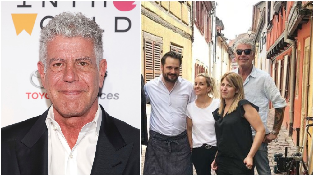 Anthony Bourdain smiles in last photos before death