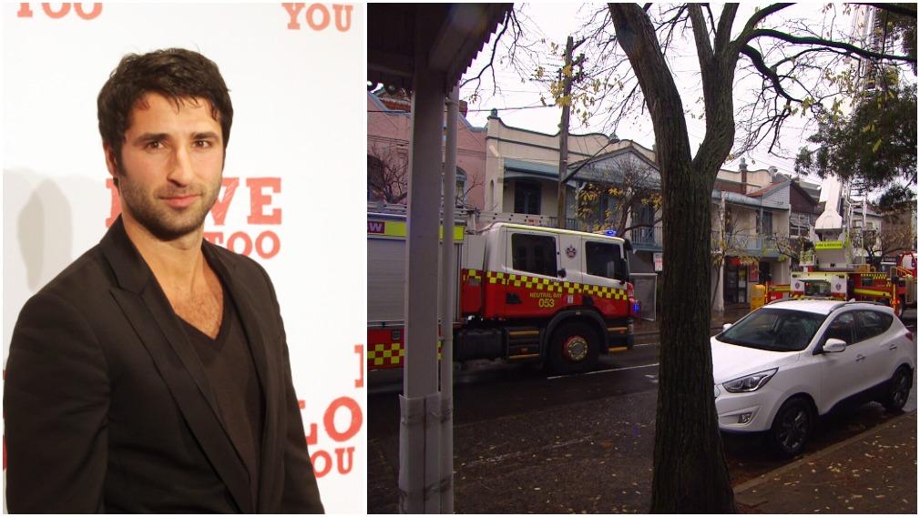 Fire tears through restaurant belonging to Aussie actor's family