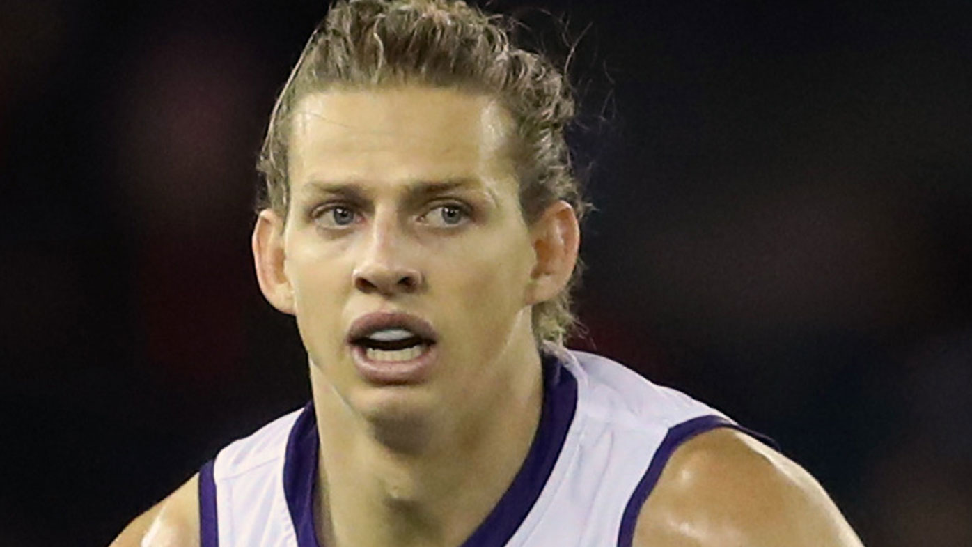 Nat Fyfe in action