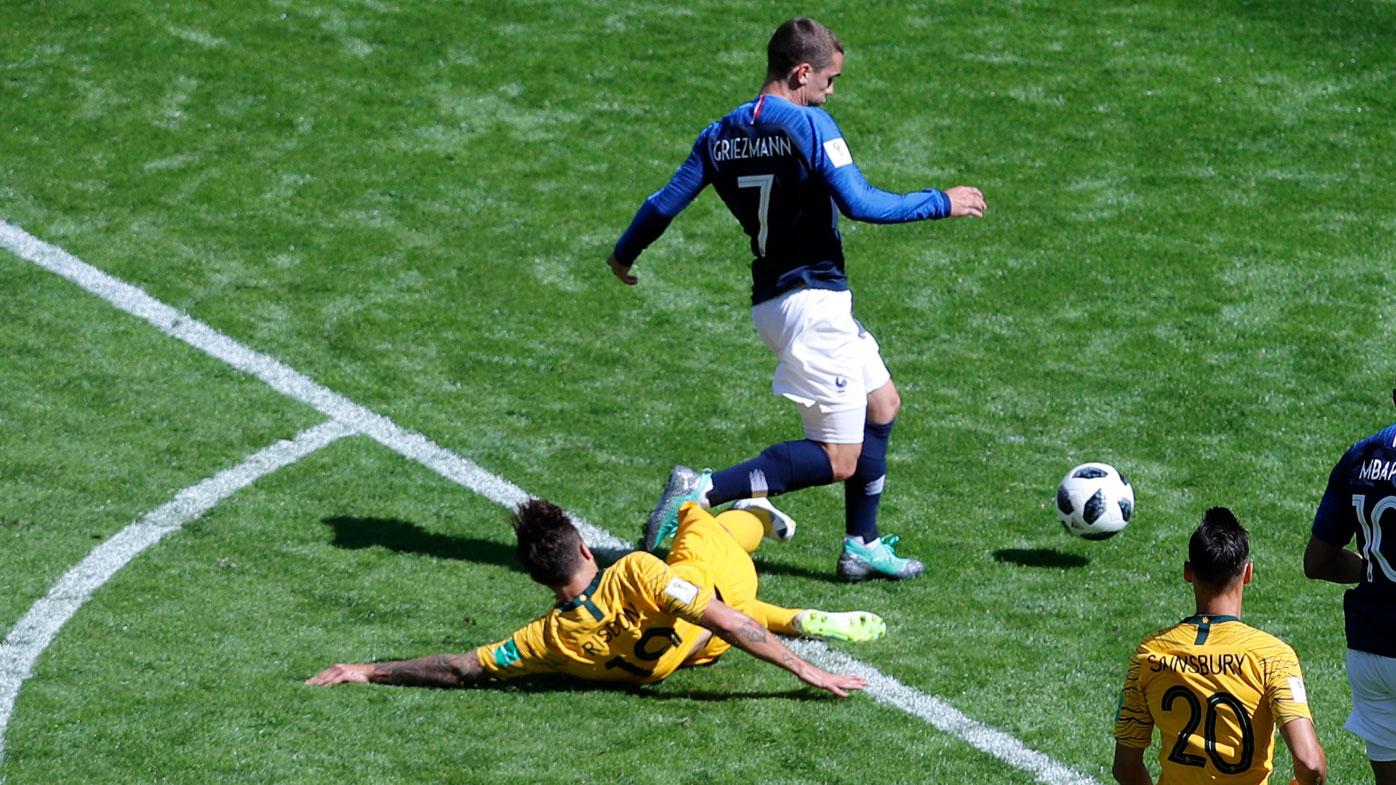 RIsdon tackles Griezmann
