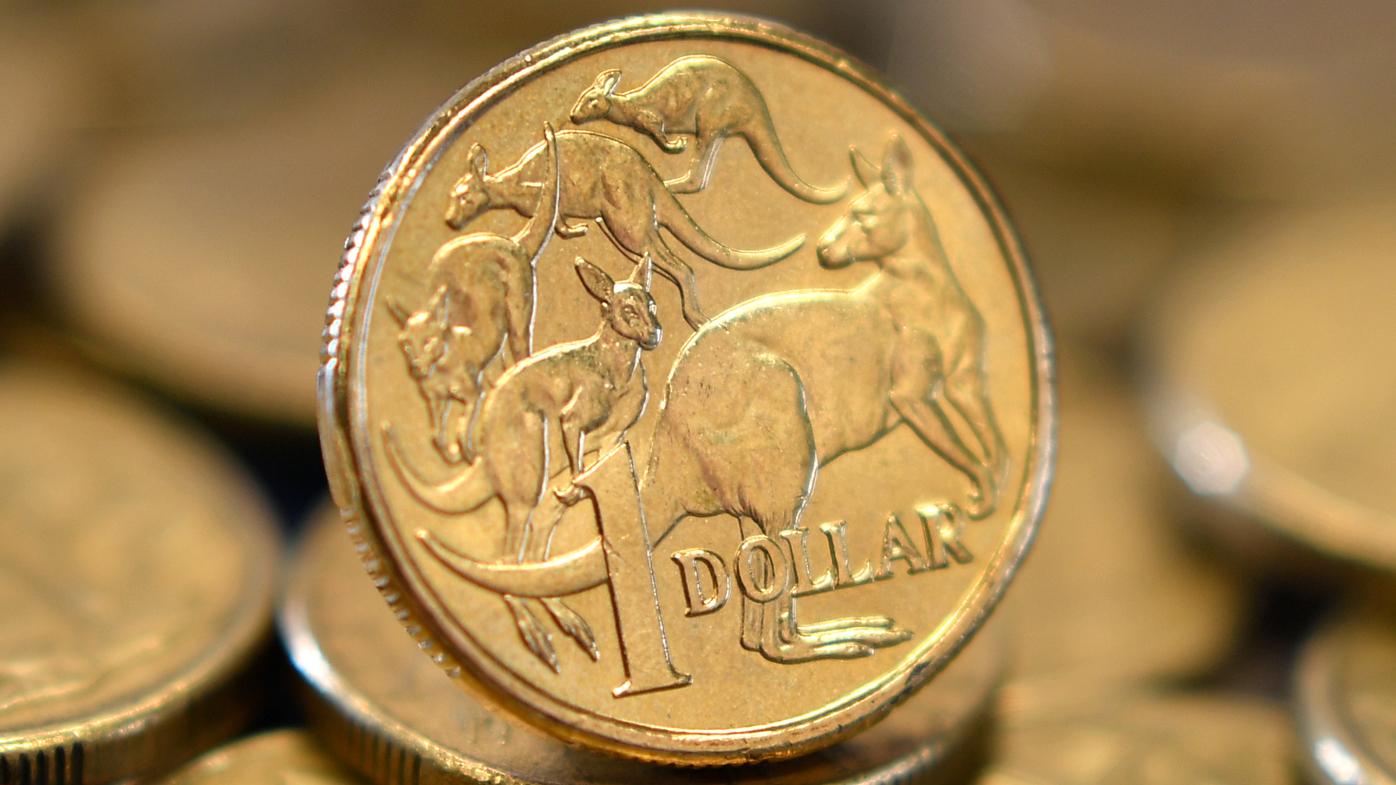 Aussie dollar drops below US 75 cents