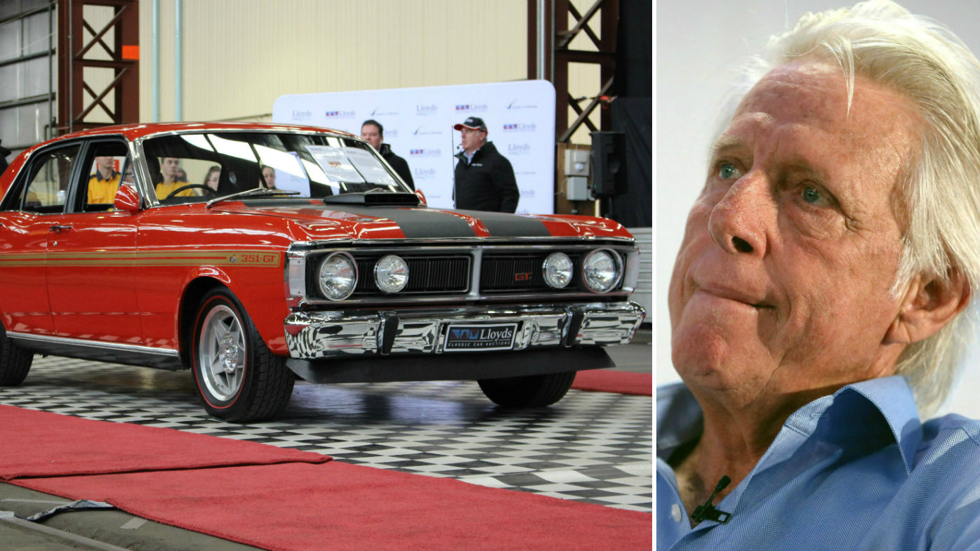 Rare Ford GTFO Phase III Falcon once owned by Jeff Thomson sells for $1m
