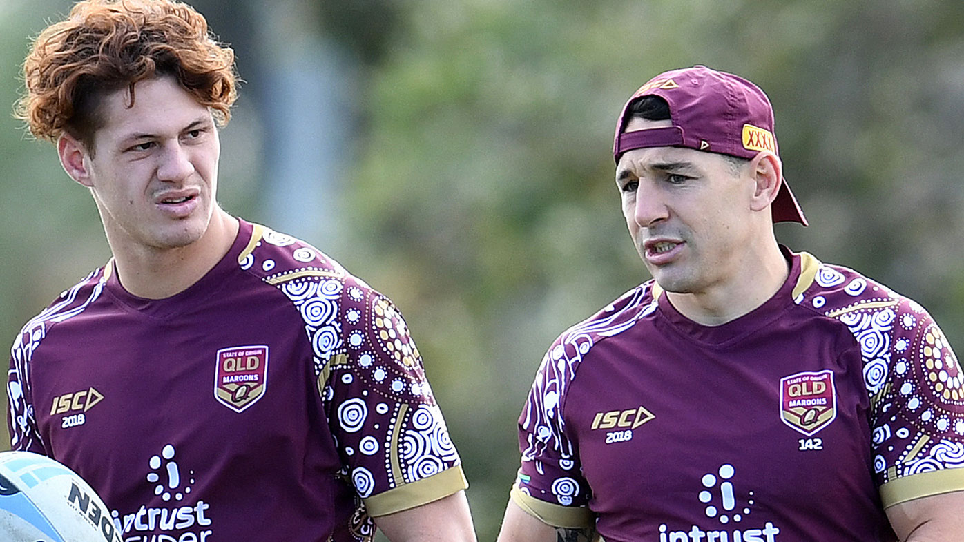 NRL Hits Back At Homophobic Fans Following State Of Origin Kiss