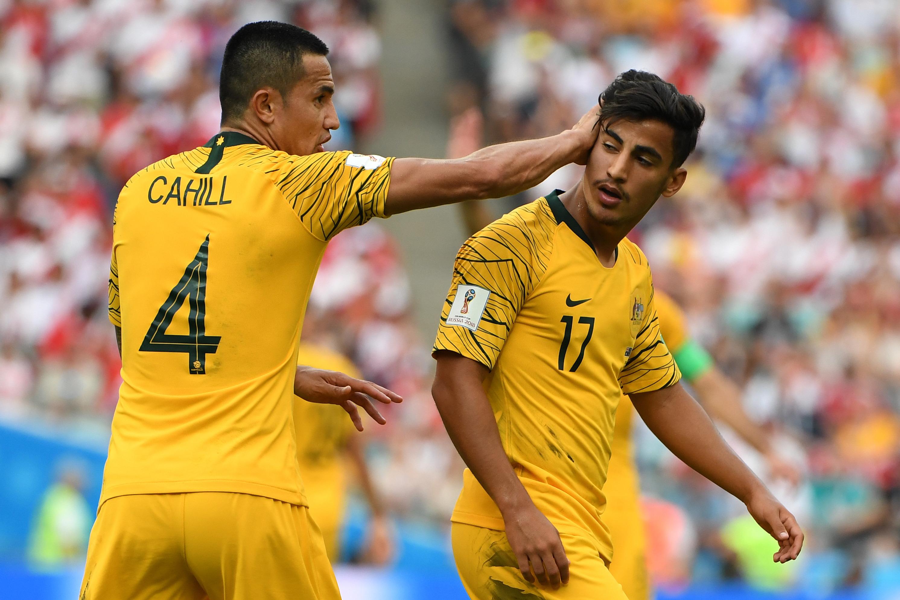 c6e63e479 FIFA World Cup  Socceroos legend warns Daniel Arzani against ...
