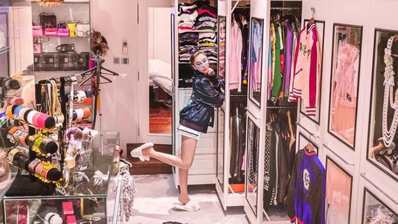 jamie chua 39 s walk in wardrobe could be the most expensive closet in the world. Black Bedroom Furniture Sets. Home Design Ideas