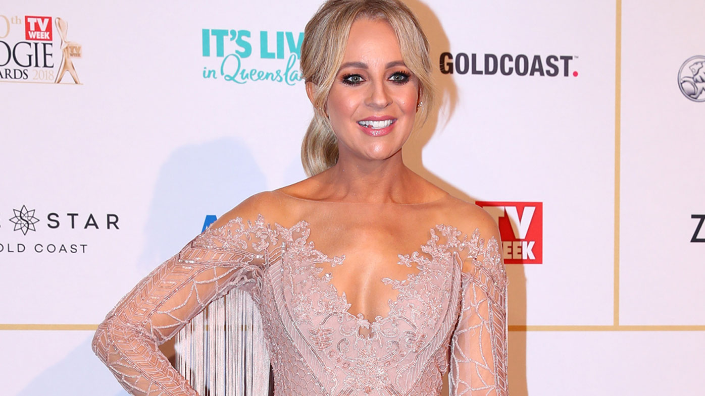 Carrie Bickmore Nails Maternity Chic On Red Carpet 9style
