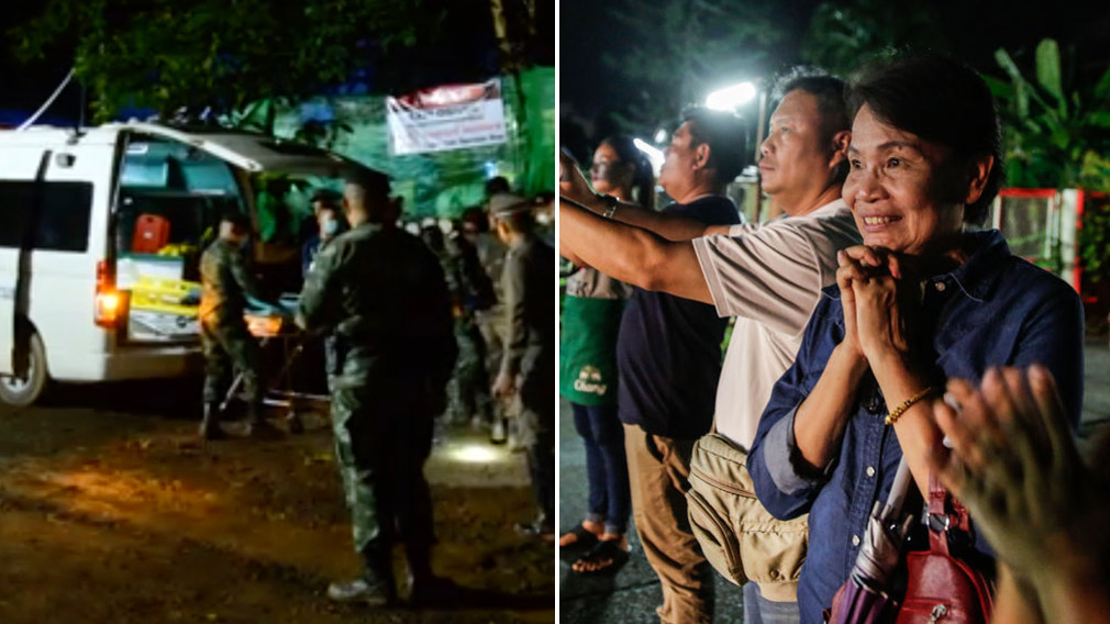 Thai cave rescue: Weakest boys extracted first
