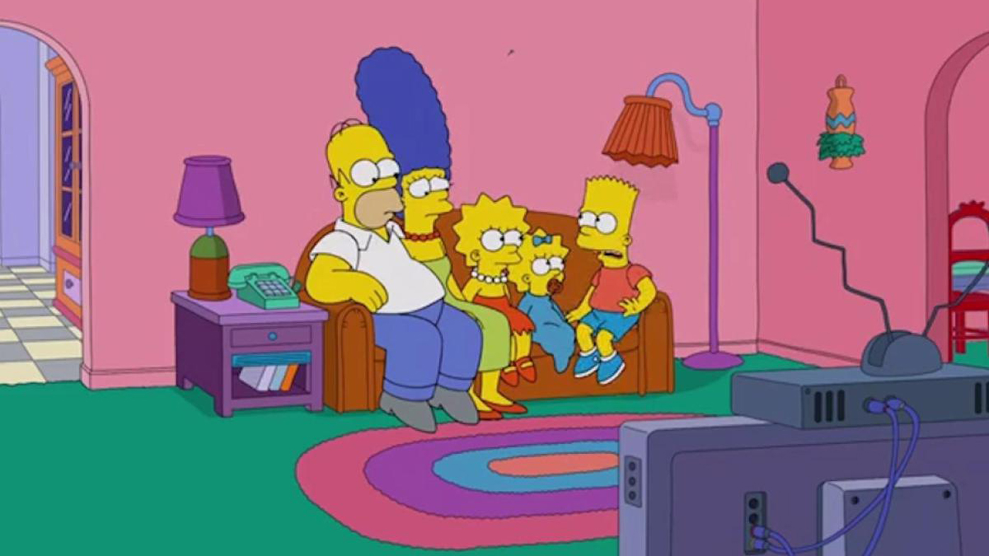 The Simpsons\' living room gets six modern makeovers - 9Homes
